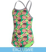 Dolfin Uglies SwimOutlet Exclusive Girls' Peppermint Patty One Piece Swimsuit 8146072