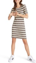 Madewell Women's Stripe Rib Knit Minidress