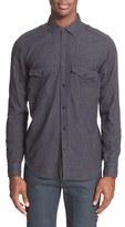 Belstaff Men's 'Steven' Brushed Flannel Shirt