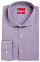 HUGO Plaid Textured Dress Shirt
