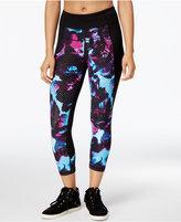 Calvin Klein Printed Capri Leggings