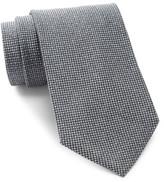 Calvin Klein Glimmer Mesh Micro Pattern Tie