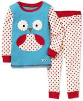 Skip Hop SkipHop Zoo Little Kid and Toddler Pajama Set, Otis