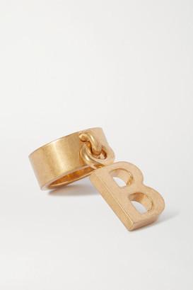 Balenciaga Gold-tone Ring