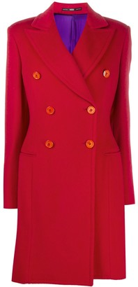Gianfranco Ferré Pre-Owned 2000s Double-Breasted Knee-Length Coat