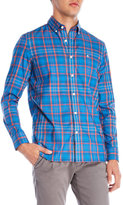 Victorinox Plaid Button-Down Slim Fit Shirt