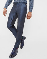 Global Luxe Linen-wool Trousers