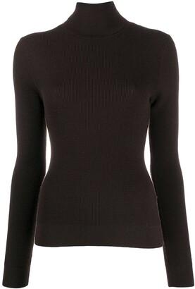 Dolce & Gabbana Textured Cashmere Turtleneck Jumper