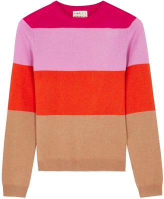 Peoples Republic of Cashmere People's Republic Of Cashmere Striped Cashmere Jumper