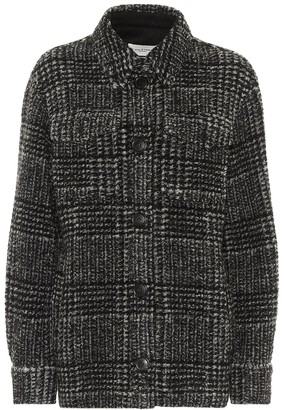 Etoile Isabel Marant Gastoni checked wool-blend jacket