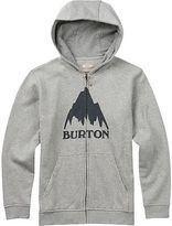 Burton Classic Mountain Full-Zip Hoodie - Boys' Gray Heather S