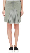 Tim Coppens WOMEN'S PLEATED-INSET CARGO SKIRT