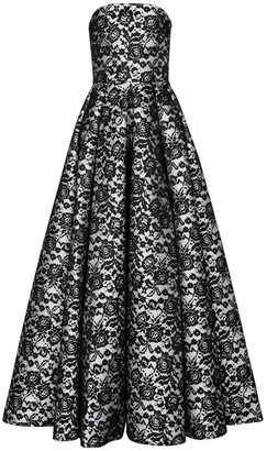 Rasario Floral-lace gown