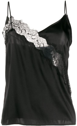Pinko Scalloped Lace Slip Vest