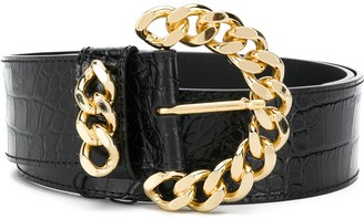 Kate Cate Chunky Chain-Link Belt