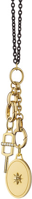 """Monica Rich Kosann """"The Key to your Heart"""" Charm Necklace"""