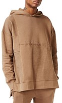 Topman Men's Aaa Collection Panelled Oversize Hoodie