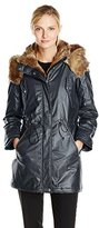 Andrew Marc Women's Lauren Coated Cotton Anorak