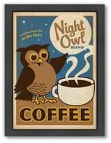 "Bed Bath & Beyond Americanflat ""Night Owl"" Digital Print Wall Art"
