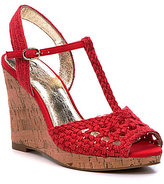 Adrianna Papell Franklin Woven Jute Wedges