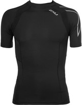 2xu - Tr2 Mesh-panelled Compression Running T-shirt