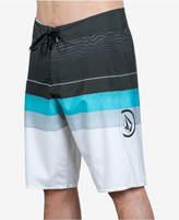"Volcom Men's Lido Liney Mod Stripe 21"" Boardshorts"