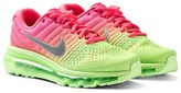 Nike Pink and Green Air Max 2017 Running Trainers