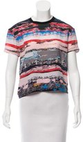 Opening Ceremony Printed Silk Top