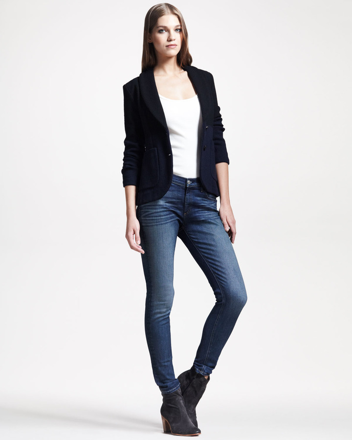 Rag and Bone Rag & Bone Curtis Colorblock Knit Blazer