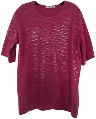 Gianfranco Ferre Pink Cotton Top for Women Vintage