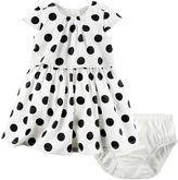 Carter's Baby Girl Polka-Dot Popover Dress