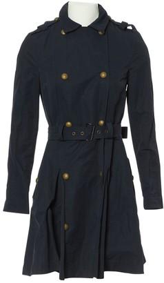 Lanvin Navy Cotton Coat for Women