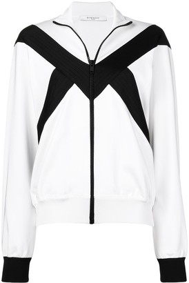 Givenchy Zip-Up Bomber Jacket