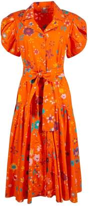 N. Lhd \N Orange Cotton Dresses