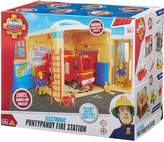 Fireman Sam Electronic PonyPandy Figure Station Playset