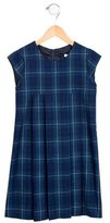 Jacadi Girls' Pleated Plaid Dress