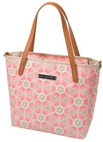 Petunia Pickle Bottom Infant 'Downtown Mini' Coated Canvas Diaper Tote - Pink