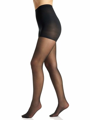 Berkshire Women's Silky Extra Wear Sheer Control Top Pantyhose-Sandalfoot 4527