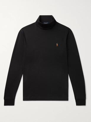 Polo Ralph Lauren Pima Cotton-Jersey Rollneck T-Shirt