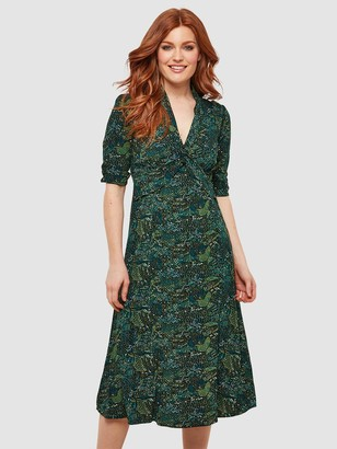 Joe Browns Charming Vintage Dress - Green