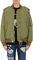 Off-White Men's MA-1 Bomber Jacket-GREEN