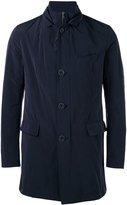 Herno button up trench coat - men - Polyamide/Polyester/Viscose - 52