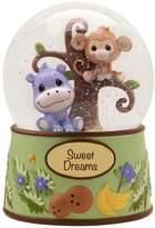 """Precious Moments Precious Paws """"Sweet Dreams"""" Musical Safari Snow Globe"""