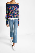 MiH Jeans M i H Cropped and Flared Jeans