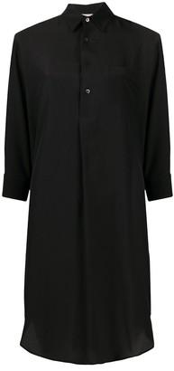 Blanca Vita Aida silk shirt dress