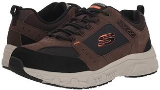 Skechers Oak Canyon (Chocolate/Black) Men's Lace up casual Shoes