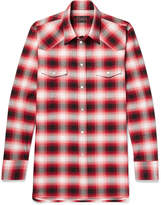 Marc Jacobs - Dusty Slim-fit Checked Cotton Shirt