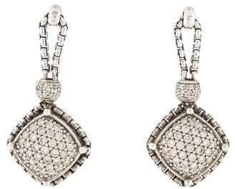 David Yurman Diamond Cable Earrings