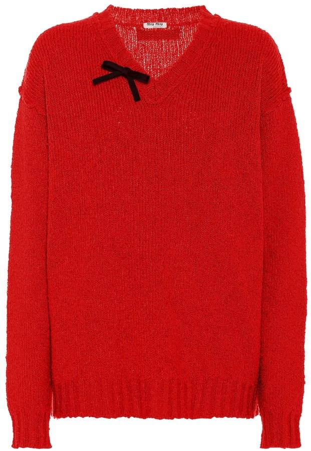 Miu Miu Wool blend sweater