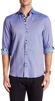 Coogi Patterned Regular Fit Dress Shirt